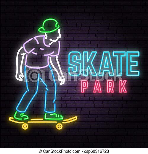 EPS Vector - Green skate park concept background, cartoon style. Stock  Clipart Illustration gg109798555 - GoGraph