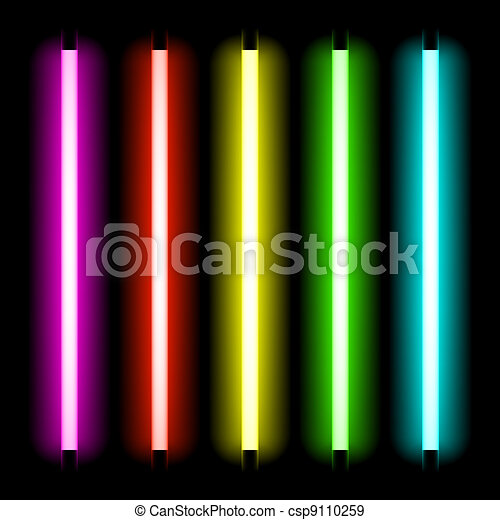 Neon tube light - csp9110259