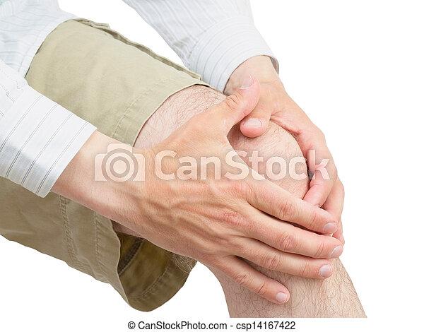 Neoprene knee brace. - csp14167422