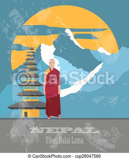 Información de Nepal - csp28047566