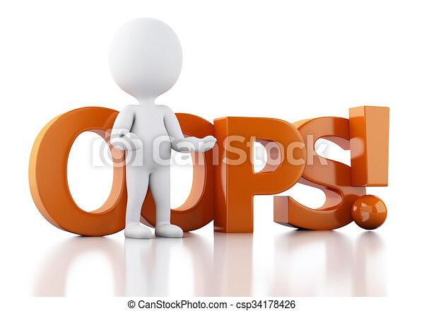 neposkvrněný, 3, vzkaz, oops, národ - csp34178426