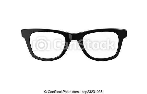 Line Drawing Glasses : Nerd glasses classic black framed or geek