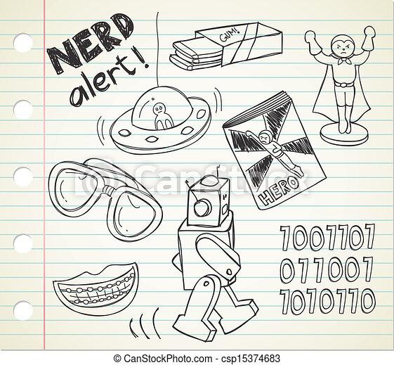nerd stuff - csp15374683