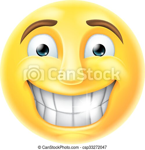 Eps vector of nervous smile emoji emoticon a smiling cartoon nervous smile emoji emoticon csp33272047 ccuart Choice Image