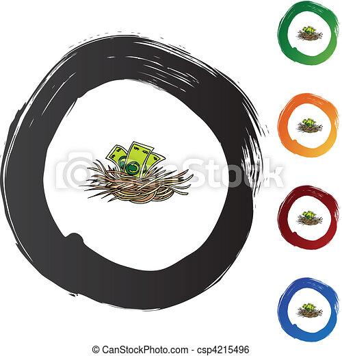 Nest Egg - csp4215496