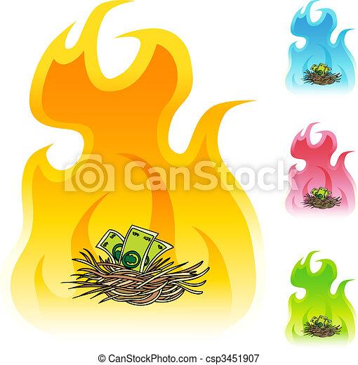 Nest Egg - csp3451907