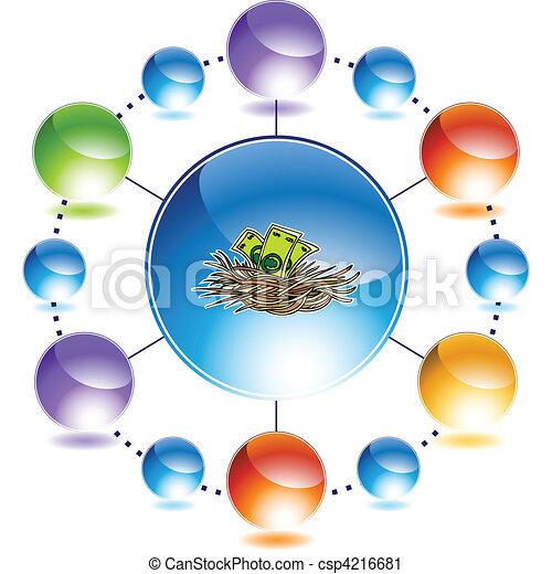 Nest Egg - csp4216681