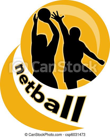 netball player jumping ball - csp6031473