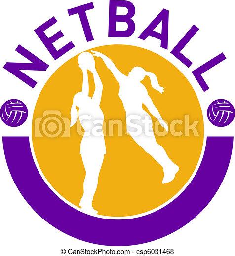 netball player shooting ball  - csp6031468