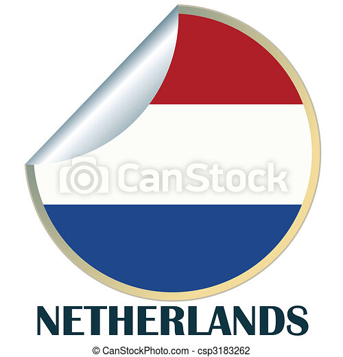 Netherlands sticker csp3183262