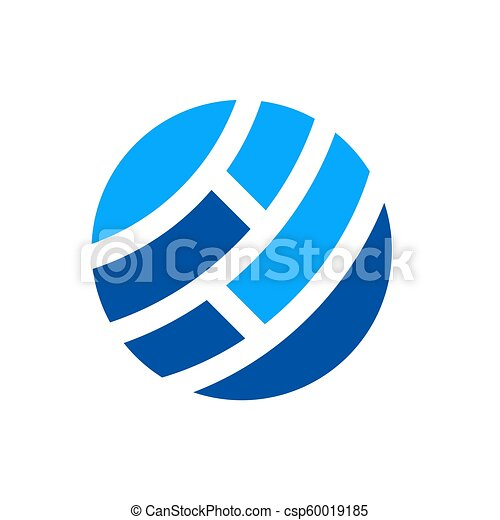 netværk, abstrakt, globale, illustration, vektor, digital verden, konstruktion, logo, ikon - csp60019185