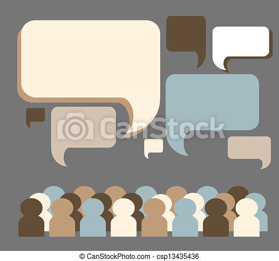 netwerk, sociaal - csp13435436