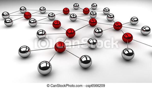 netwerk, sociaal - csp6566209