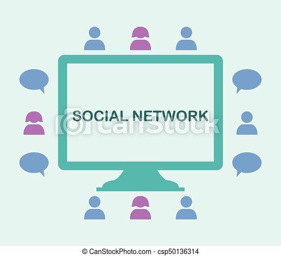 netwerk, sociaal - csp50136314
