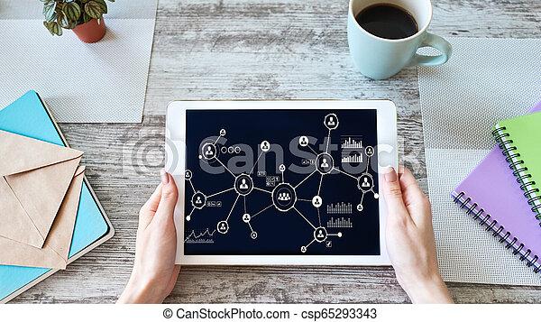 network., 구조, 자원, 사업, 모델, hr, 인간, 친목회, organisational, management. - csp65293343