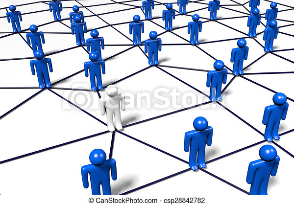 network concept 3d computer generated network clip art stock rh canstockphoto com network clipart png network clipart free