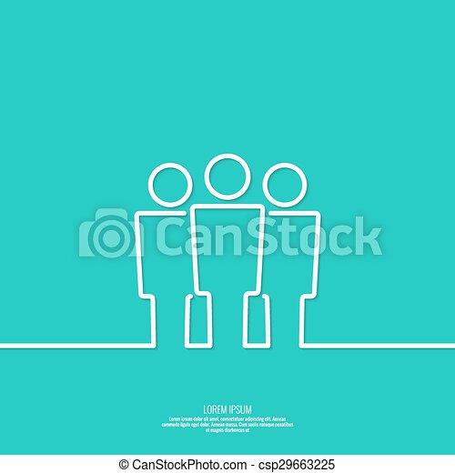 network., groupe, utilisateur - csp29663225