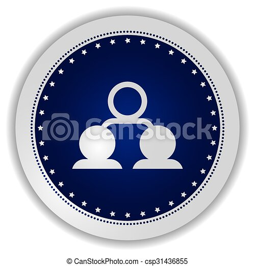 network icon button - csp31436855