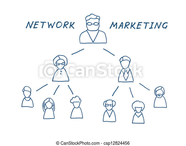 Network marketing illustration network multilevel marketing network marketing illustration ccuart Image collections