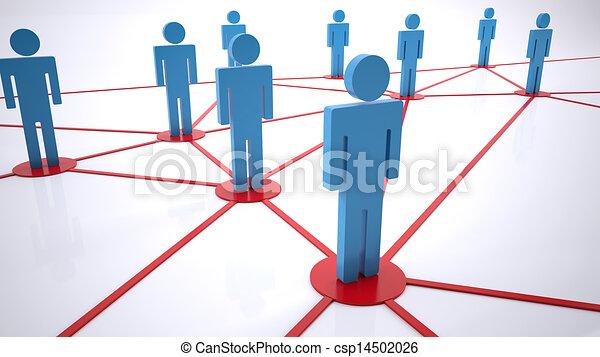 network people - csp14502026