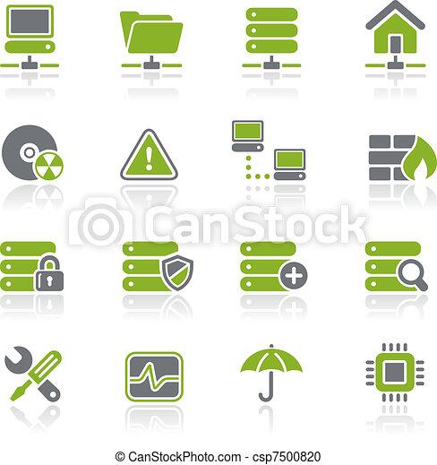 Network, Server & Hosting / Natura - csp7500820
