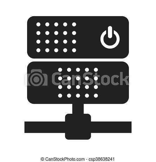 network server power button icon