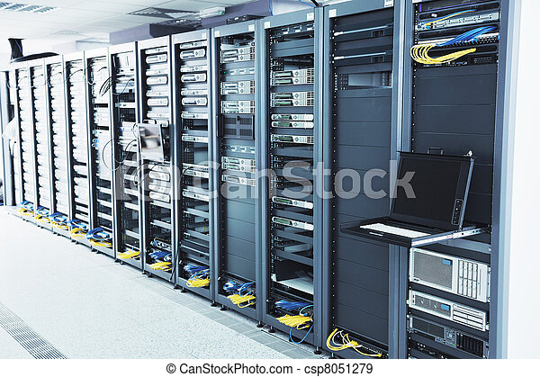 network server room - csp8051279