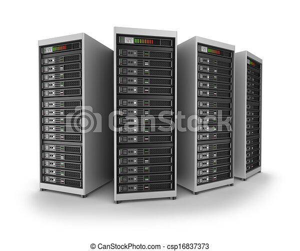Network servers in data center - csp16837373