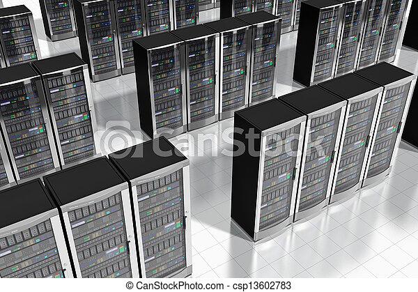 Network servers in datacenter - csp13602783
