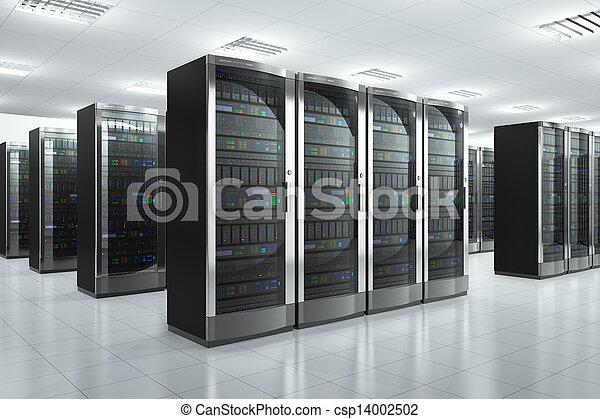 Network servers in datacenter - csp14002502