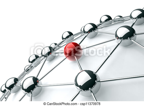 networking and internet concept - csp11370978