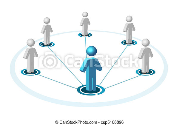 networking, sociale - csp5108896