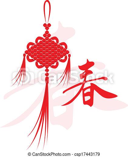 Chinesisches neues Jahr. - csp17443179