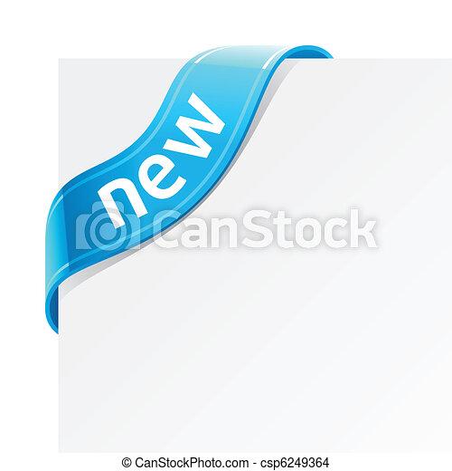 neu , zeichen - csp6249364