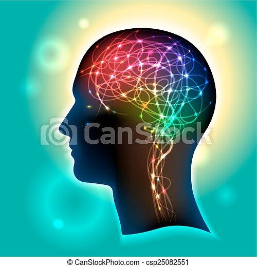 Neurons in the Brain - csp25082551