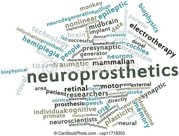 Neuroprosthetics - csp11718303