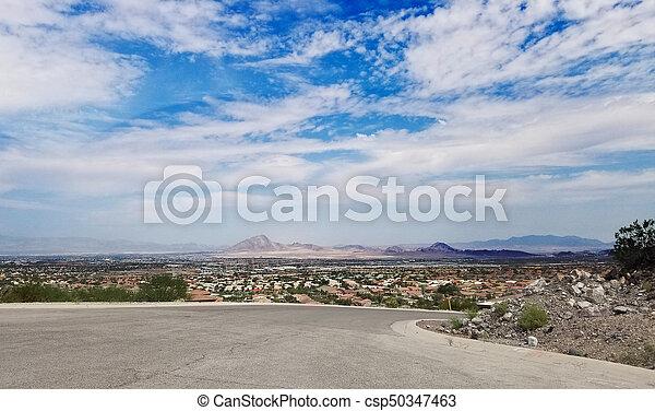 Nevada Cityscape - csp50347463