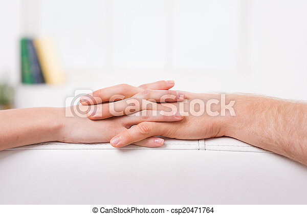 Never Let You Go Close Up Of Man And Woman Holding Hands