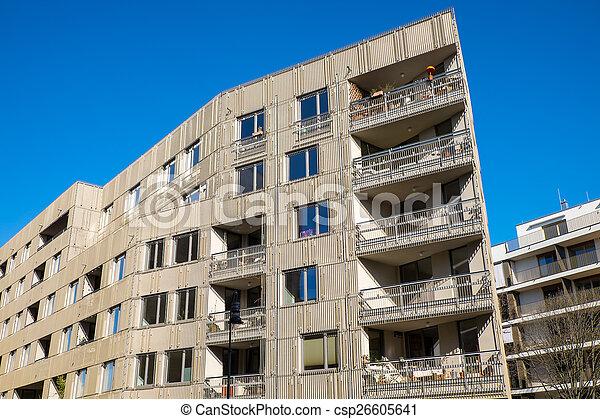 New apartment building in Berlin - csp26605641