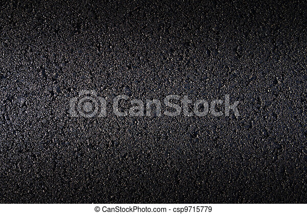 new asphalt laid on the road - csp9715779