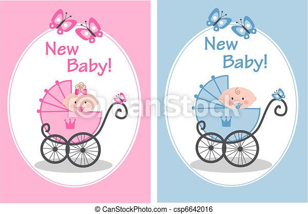 New Baby Newborn Baby Girl And Baby Boy