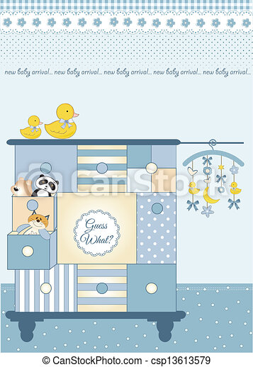 New baby greeting card with nice closed new baby greeting card with nice closed csp13613579 m4hsunfo