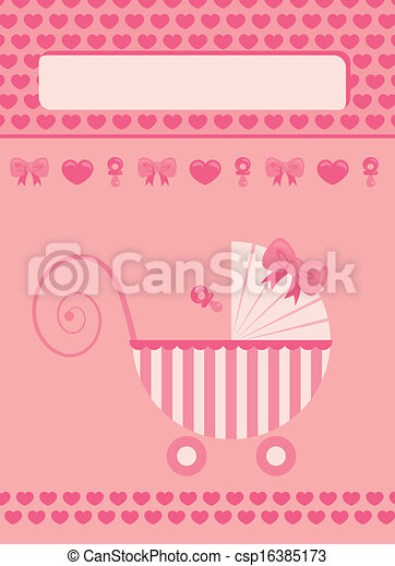 new born baby girl greeting card new born baby girl pink greeting card