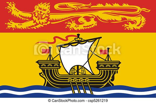 New Brunswick Flag - csp5261219