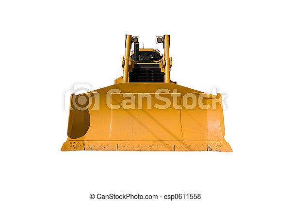 New Bulldozer front - csp0611558
