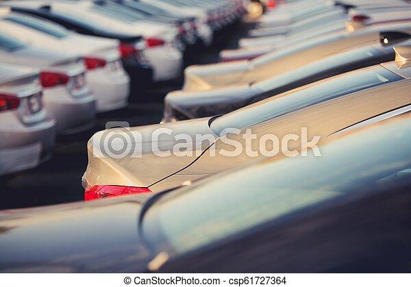 New Cars Dealer Stock - csp61727364