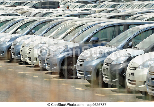 New Cars Importing - csp9626737