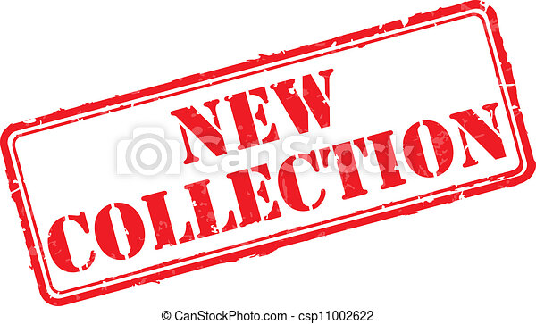New collection rubber stamp - csp11002622