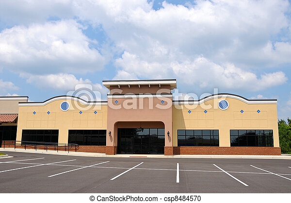New Commercial Building - csp8484570
