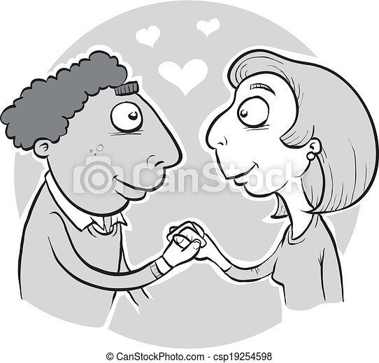 New Couple in Love - csp19254598